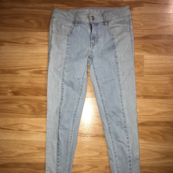 American Eagle Outfitters Denim - Like New American Eagle Crop Stretch Jeggings
